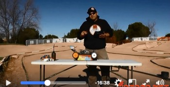 Video - Cómo carburar un motor RC por Dani Vega. Incluye textos explicativos