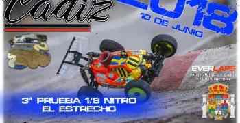 10 de Junio - 3ª prueba Campeonato de Cádiz 1/8 TT Gas 2018
