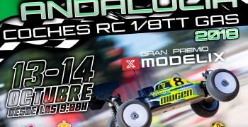 13 y 14 de Octubre - Cuarta prueba del Campeonato de Andalucia 1/8 TT Gas en San Jose