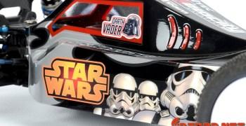 Video - Pintando una carrocería de Star Wars con pegatinas bajo la pintura