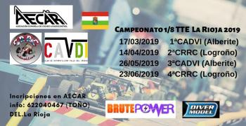 Calendario - Campeonato 1/8 TT ECO 2019 la Rioja