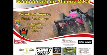 Crónica - 2ª Prueba Provincial 1/8 TT nitro y eléctrico en Pulpí, Almería