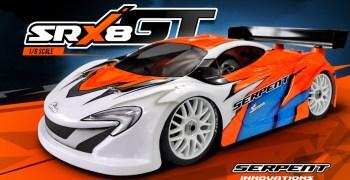 Serpent presenta el SRX8-GT