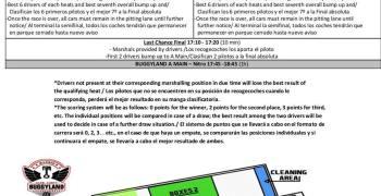 Buggyland 2019 - Horarios, presentación del circuito y plano de las instalaciones