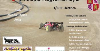 12 de Octubre - 2º Prueba regional Castilla Leon 1/8 Eléctrico
