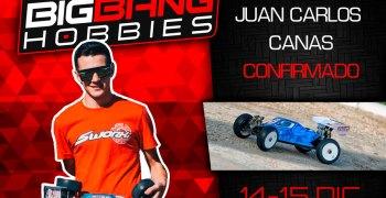 Juan Carlos Canas confirmado para la Big Bang Race en Sax