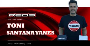 Toni Santana renueva con REDS Racing para 2020