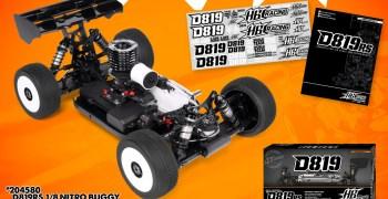 HB Racing presenta su nuevo buggy 1/8 D819RS