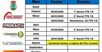 Calendario RC Requena 2020