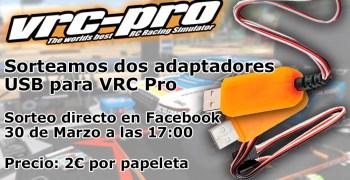 Sorteo de adaptadores USB para VRC Pro ¡Juega al RC desde casa!