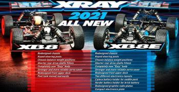 XTR Racing - Abierto el plazo de reservas de los nuevos XRay XB8 2021