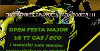 4 y 5 de Septiembre - Open Festa Major Memorial Juan Moncho