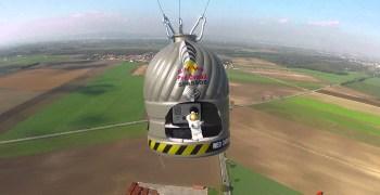 Red Bull Stratos, el salto de Felix Baumgartner desde 36 Km de altura