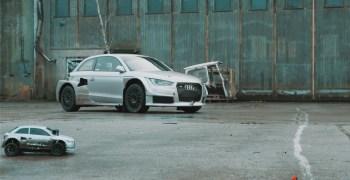 Video: Audi Quattro Vs coche radiocontrol