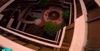 Video - Vuelo freestyle en un edificio de oficinas. Por Skitzo.