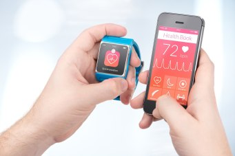 Data synchronization of health book between smartwatch and smart