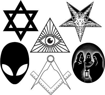 A conspiração demo-pluto-judáico-maçonica (O Cantinho dos Anti-Semitas)