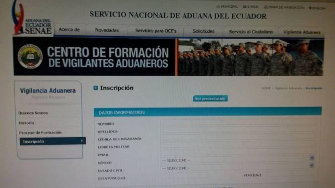 informacionecuador.com aduana