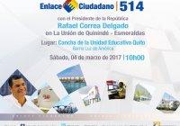 enlace ciudadano 514 en vivo sabatina informacionecuador.com