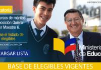 Lista-de-Elegibles-Quiero-Ser-Maestro-6-2017-(VIGENTES)-informacionecuador.com