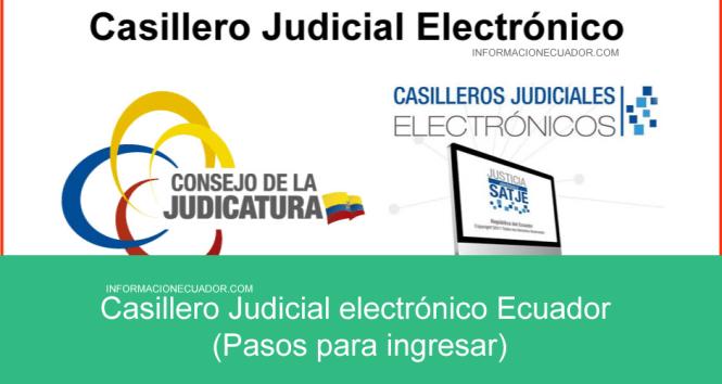 casillero judicial