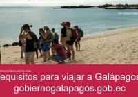 requisitos para viajar a galapagos