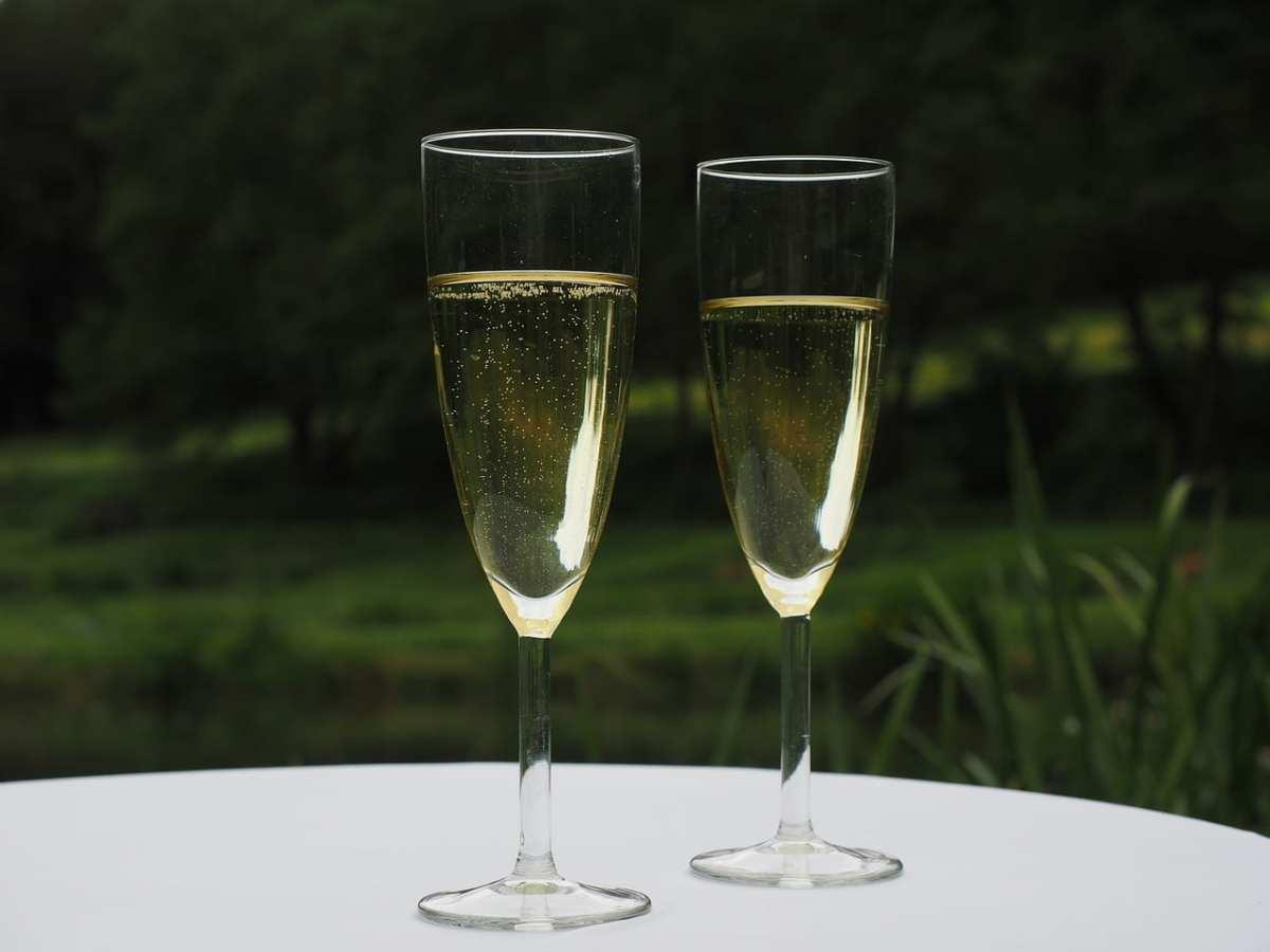 consumo de champán evoluciona