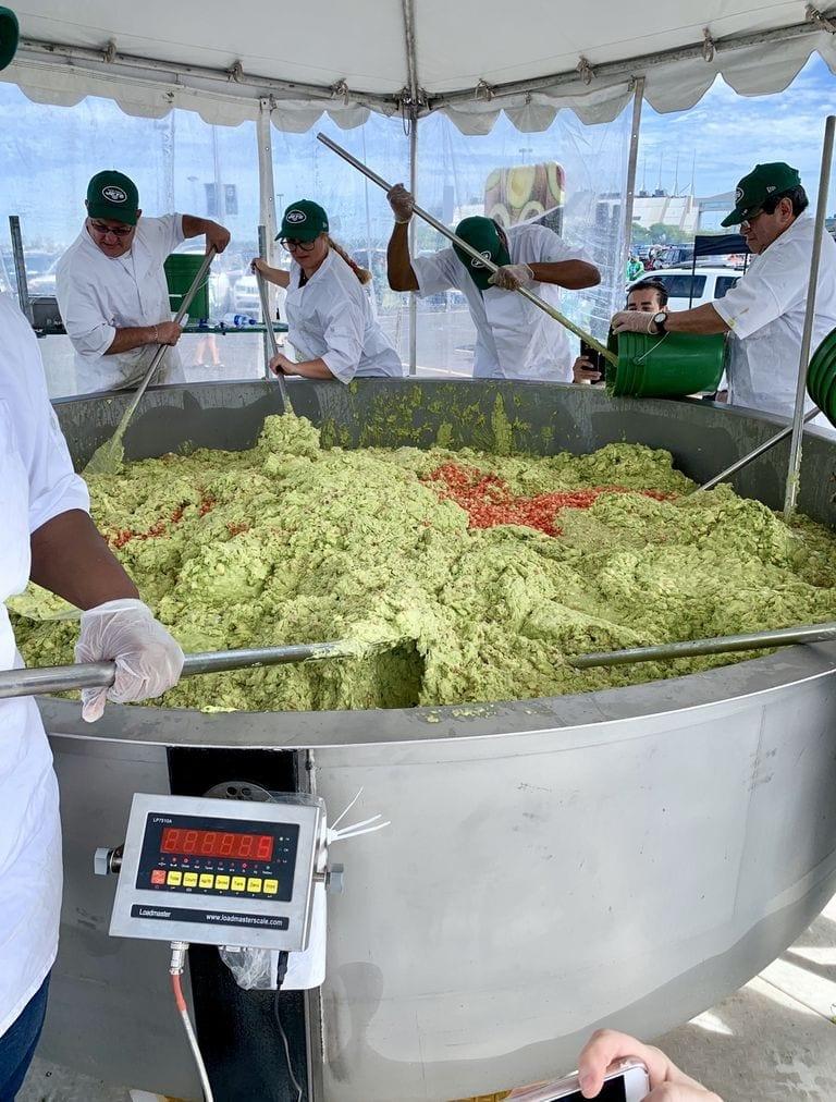 WAO bol de guacamole