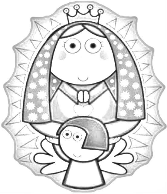 Imagenes De La Virgen Para Dibujar Faciles Dibujos Catolicos