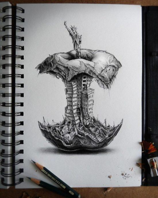 Deep Dark Drawings Meanings