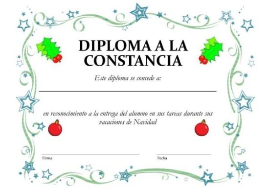 Diplomas Escolares Infantiles Para Nios Para Imprimir Y