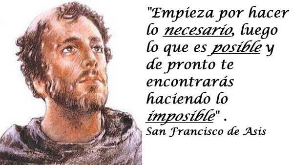 Pequeno La De El De Asis Francisco Oracion San