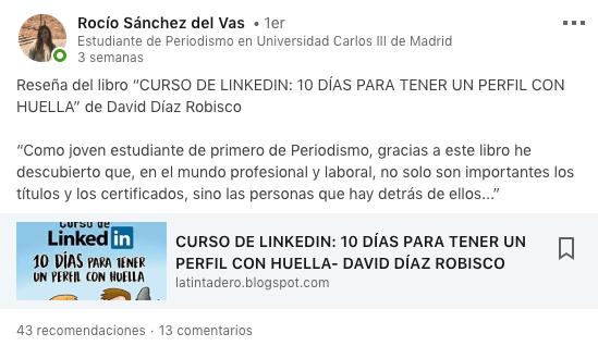Rocio Sanchez del Vas