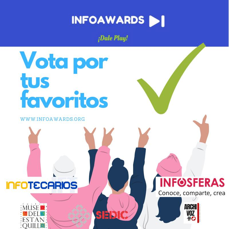 volante del infoawards 2019