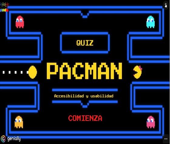 tapa del juego de pacman