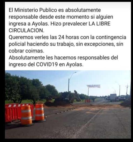 IMG-20200404-WA0004 Amiguismo logró adulterar informe policial en Ayolas