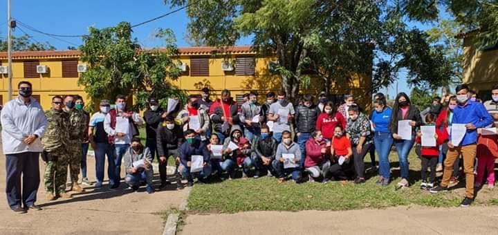 100801305_2707988579313116_6037308641768374272_n Compatriotas albergados en San Juan y Ayolas vuelven a casa