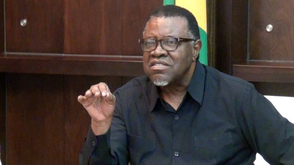 reckless allegations President Hage Geingob