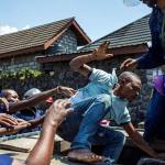 Protesters in DRC target Ebola centre over election delay