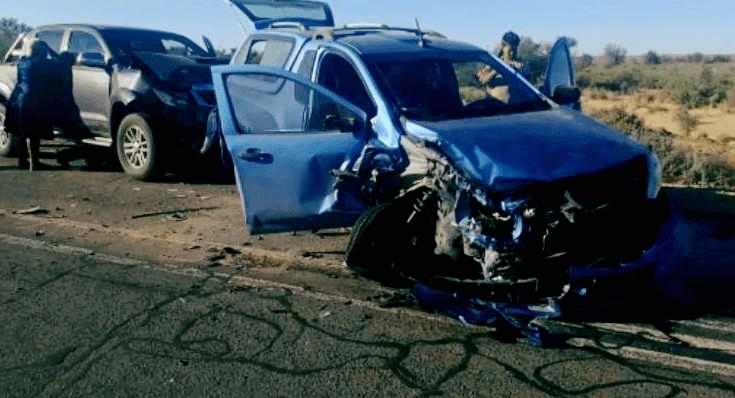 Child injured during crash