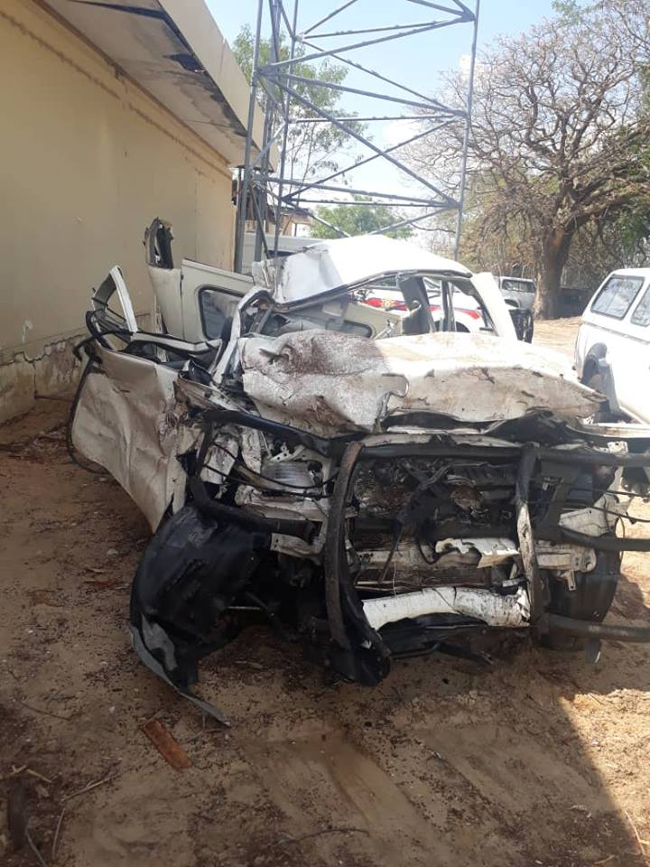 Crash claims lives of two police officers