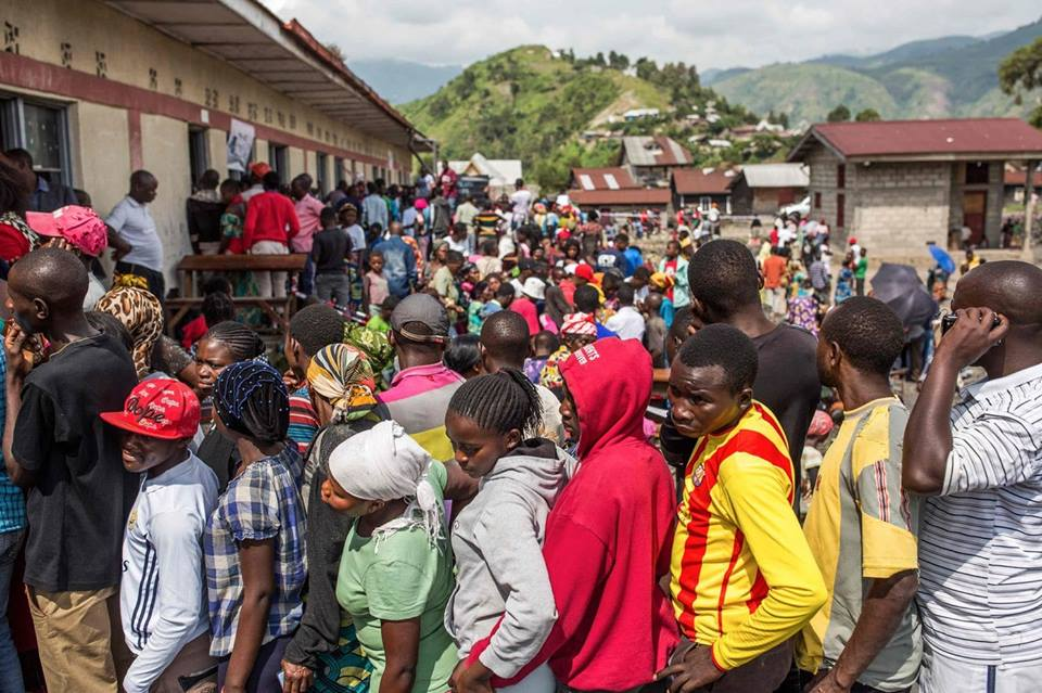 Historic election gets underway in DRC
