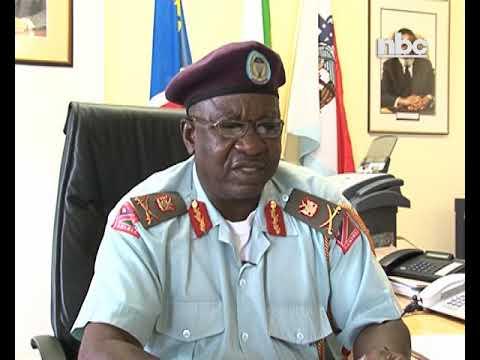 State funeral for late Major General Peter Nambundunga.