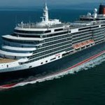 Four luxury cruise liners in port at the same time