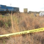 Woman hit by a train in Karibib