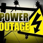 Four regions will be without electricity