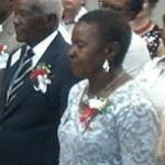 Frans Aupa Indongo says 'I do'