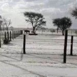 """""""Snow"""" in Gobabis"""