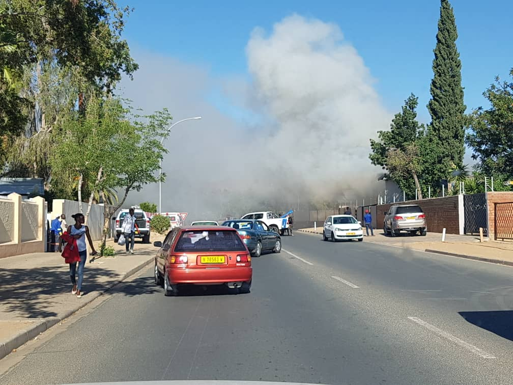 8697d1f65 One of the neighbours saw thick smoke billowing out of the house and called  the Windhoek Fire Brigade to the scene.