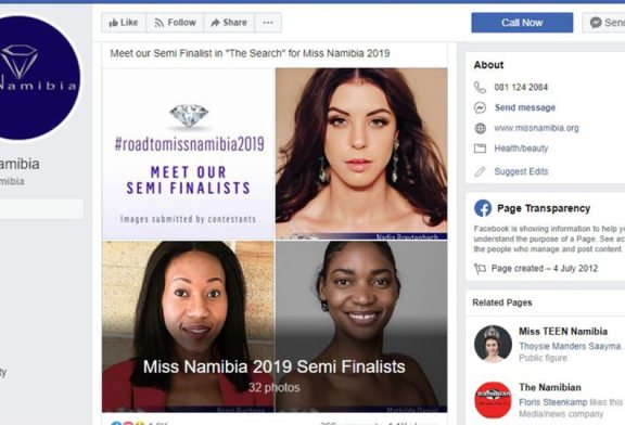 Insulted Miss Namibia finalists must swallow blades